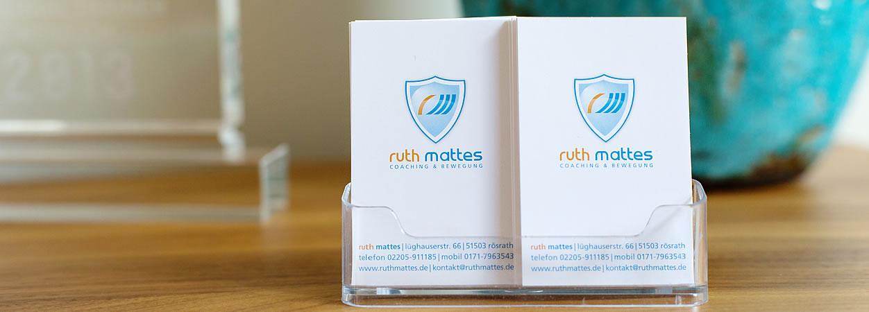 Ruth Mattes, Coaching & Bewegung | Kontakt