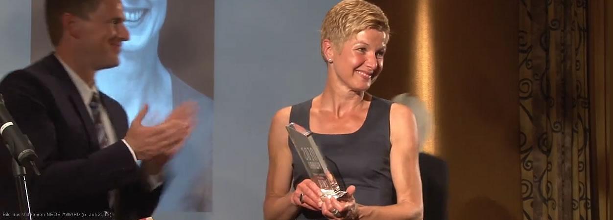 Ruth Mattes: Gewinnerin des NEOS AWARD Personal Trainer, weiblich (2013)